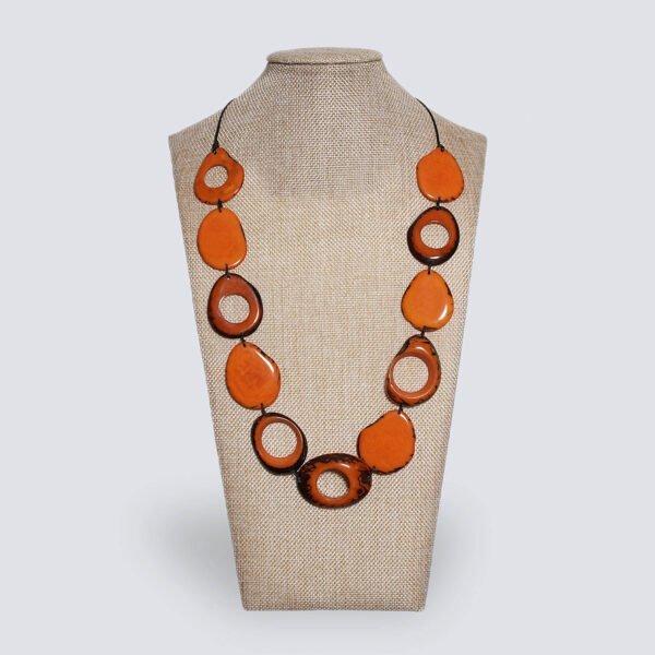Collana Orbita arancione