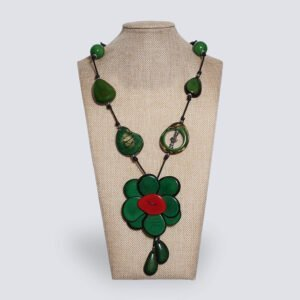 Collana Fiore verde