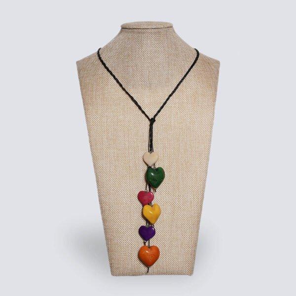 Collana Nodo d'Amore multicolor