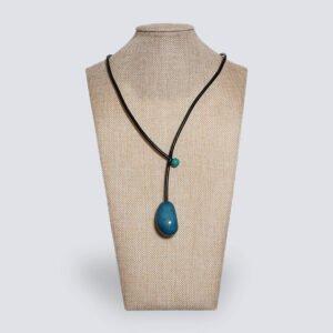Collana Eclisse azzurro