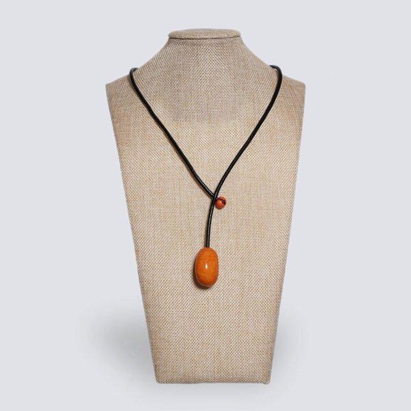 Collana Eclisse arancione