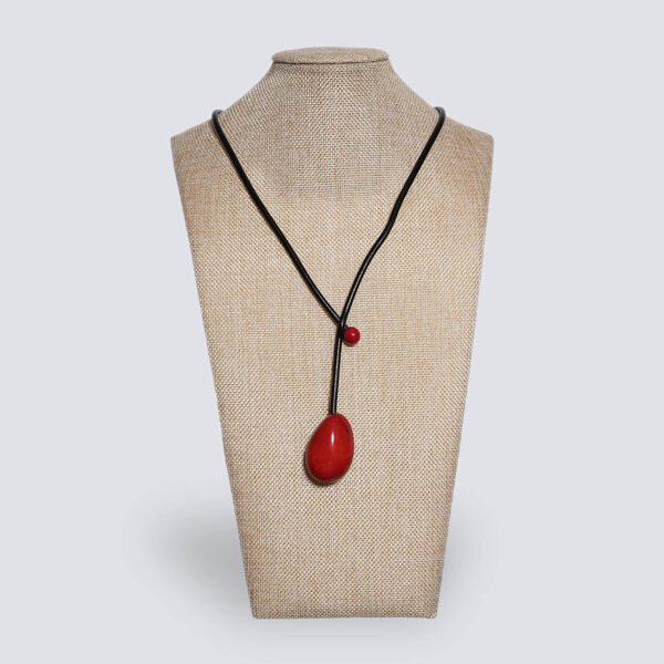 Collana Eclisse rosso