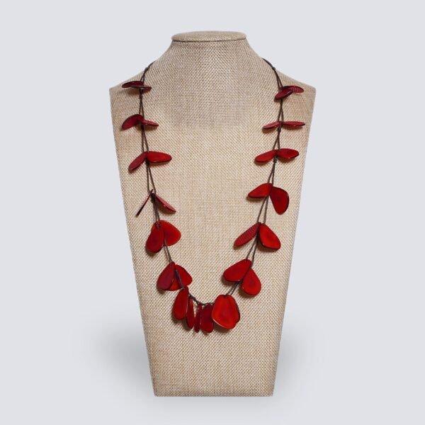 Collana Hawaii rosso
