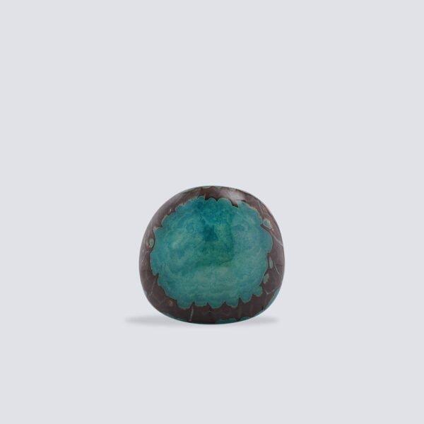 Anelli Tagua Full Moon azzurro