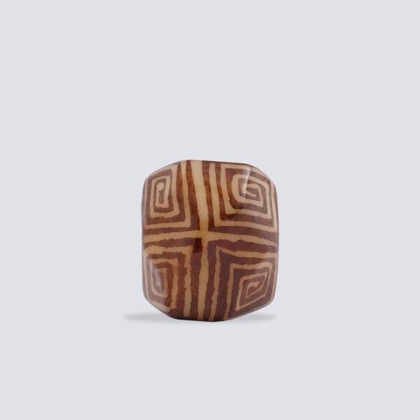 Anelli Tagua Nazca marrone