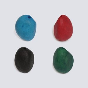 Semi Tagua satinata colorata
