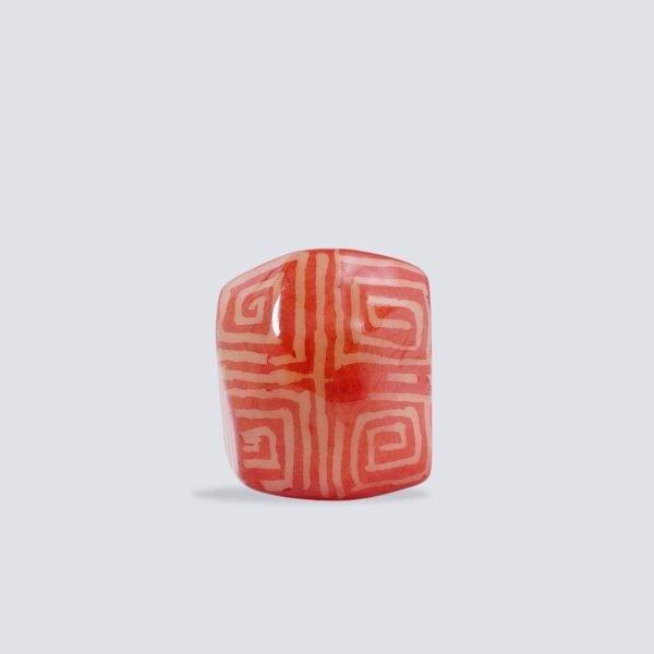 Anelli Tagua Nazca rosso